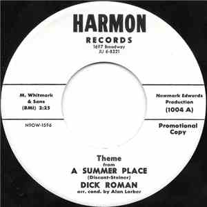 Dick Roman - Theme From A Summer Place / Butterfly download flac