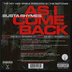Busta Rhymes - As I Come Back download flac