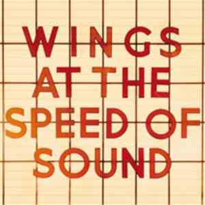 Wings  - Wings At The Speed Of Sound download flac