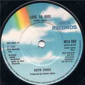 Keith Sykes - Love To Ride download flac