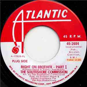 The South Shore Commission - Right On Brother (Part 1) download flac