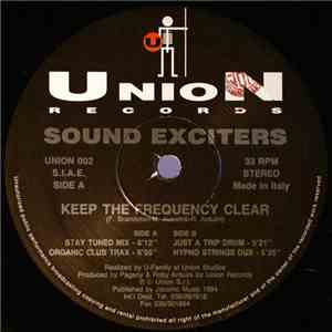 Sound Exciters - Keep The Frequency Clear download flac