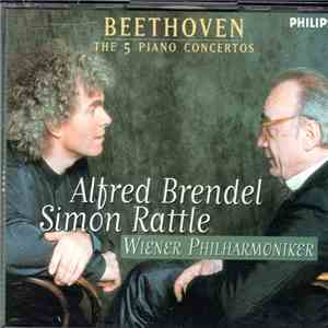 Sir Simon Rattle, Alfred Brendel, Wiener Philharmoniker - Beethoven: The 5 Piano Concertos download flac