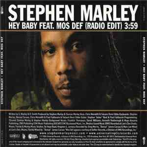 Stephen Marley Feat. Mos Def - Hey Baby (Radio Edit) download flac