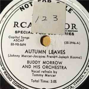 Buddy Morrow And His Orchestra - Autumn Leaves / Strangers download flac