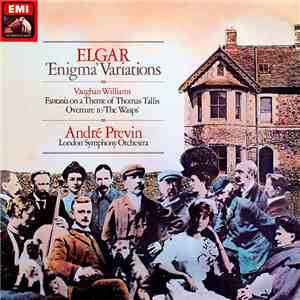 Elgar, Vaughan Williams, André Previn, London Symphony Orchestra - 'Enigma' Variations / Fantasia On A Theme Of Thomas Tallis / Overture To 'The Wasps' download flac